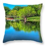 Stillness Prevails Throw Pillow