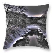 Stillwater Creek Throw Pillow