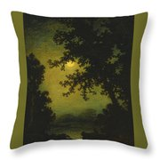 Stilly Night Throw Pillow