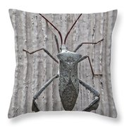 Stinkbug Throw Pillow