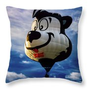 Stinky The Skunk Throw Pillow