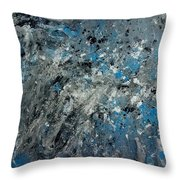 Stir Crazy Throw Pillow