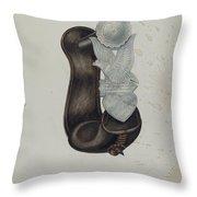 Stirrup Throw Pillow