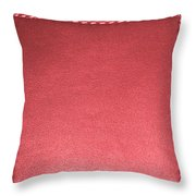 Stitched Leather Look Colorful Squares For Wall Decorations Throw Pillow