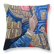 Stitching 1 Throw Pillow