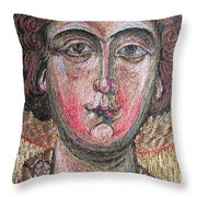 Stitching 2 Throw Pillow