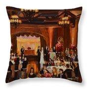St.mary/marshall Wedding Throw Pillow