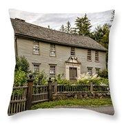 Stockbridge Mission House Throw Pillow