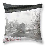 Stockdale Christmas Throw Pillow