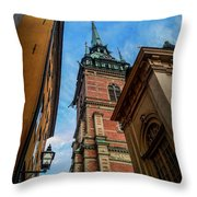 Stockholm 6 Throw Pillow