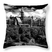 Stockholm Architecture Throw Pillow