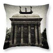 Stockholm Building Throw Pillow