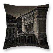 The Royal Swedish Opera Throw Pillow