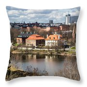 Stockholm From Skansen Throw Pillow