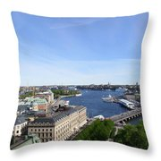 Stockholm In My Heart Throw Pillow