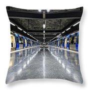 Stockholm Metro Art Collection - 008 Throw Pillow