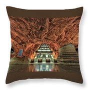 Stockholm Metro Art Collection - 013 Throw Pillow