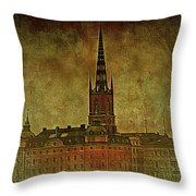 Stockholm Painting V Throw Pillow