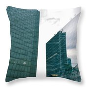 Stockholm Skyscrapers Throw Pillow