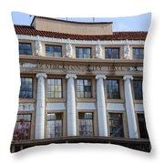 Stockton City Hall Throw Pillow