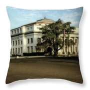 Stockton Civic Auditorium 2 Throw Pillow