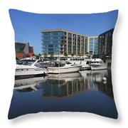 Stockton Waterscape Throw Pillow by Carol Groenen