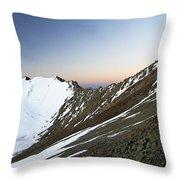 Stok Kangri India Throw Pillow