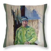 Stolen Beauty Throw Pillow