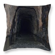 Stomp House Tunnel  Throw Pillow