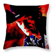 Stompin' Tom Throw Pillow