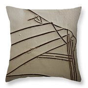 Stone - Tile Throw Pillow