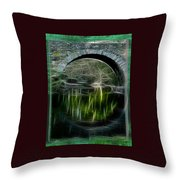 Stone Arch Bridge - Ny Throw Pillow
