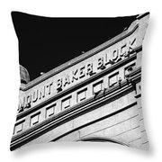 Stone Architecture Throw Pillow