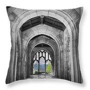 Stone Archways Throw Pillow