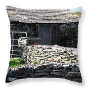 Stone Barn Doolin Ireland Throw Pillow