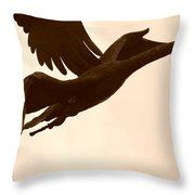 Stone Birds Throw Pillow