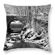Stone-bridge Throw Pillow
