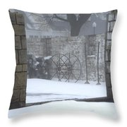 Stone Cellar Throw Pillow