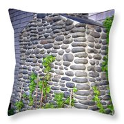 Stone Chimney Throw Pillow