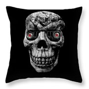 Stone Cold Jeeper Cyborg No. 1 Throw Pillow