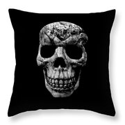 Stone Cold Jeeper Skull No. 1 Throw Pillow