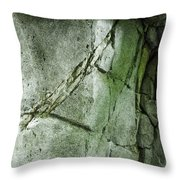 Stone/crack Throw Pillow