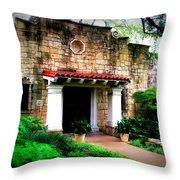 Stone Entry Throw Pillow