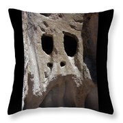 Stone Ghoul Throw Pillow