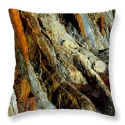 Stone History Throw Pillow