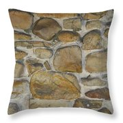 Stone Hot  Throw Pillow