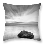 Stone In The Sea Throw Pillow