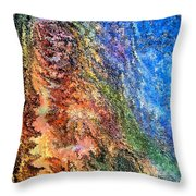 Stone Man By Rafi Talby Throw Pillow