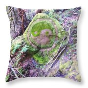 Stone Of Peace Throw Pillow