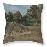 Stone Of The Field Throw Pillow